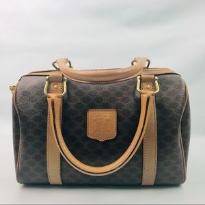 Authentic Celine Vintage Monogram Boston Bag